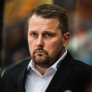 HPK:s chefstränaren Antti Pennanen.