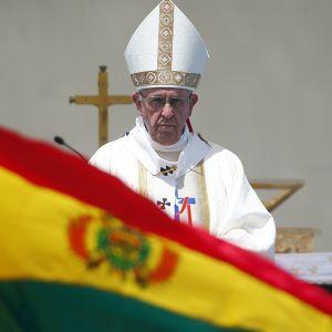 Påven Franciskus besöker Chile.