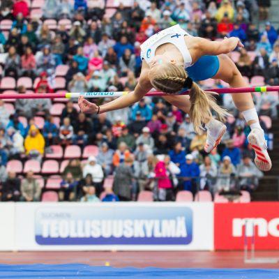 Jessica Kähärä lähti Buenos Airesiin ennätyskunnossa.