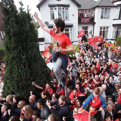Liverpool-fanit 2019, UCL-voiton paraati