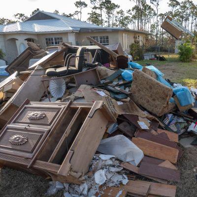 Hurrikaani Dorianin tuhoja korjattiin Freeportissa