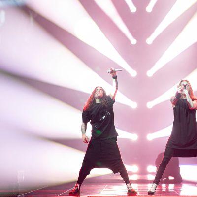Blind Channel Euroviisulavalla.
