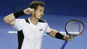 Andy Murray slog David Ferrer i kvartsfinalen i Melbourne.