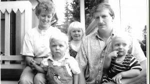 Familjen Håkans i Korsholm.