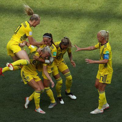 Ruotsi juhlii jalkapallon MM-pronssia!