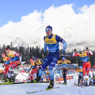 Iivo Niskanen on Suomen ainoa ehdokas kärkisijoille Oberstdorfin MM-kisojen henkilökohtaisilla matkoilla.