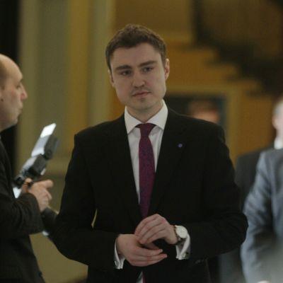 Taavi Rõivas estlands premiärminister,