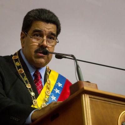 Venezuelas president Nicolás Maduro.