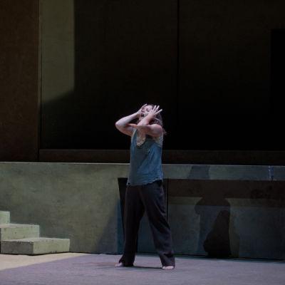 Evelyn Herlitzius i titerollen som Elektra på Nationaloperan.