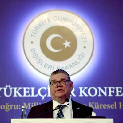 Timo Soini i Turkiet