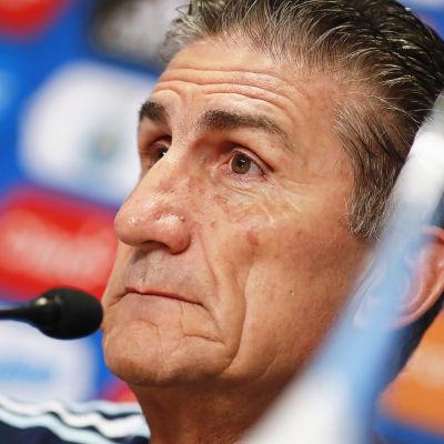 Argentinas chefstränare har fått sparken.