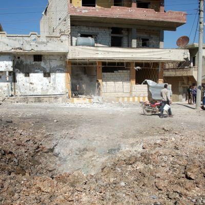 Idlibin ilmaiskun tapahtumapaikka