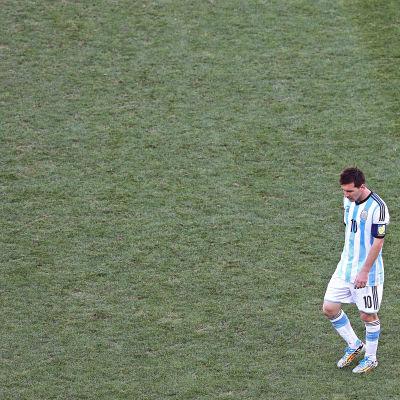 Lionel Messi är lagkapten för Argentina.