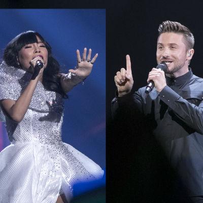 Dami Im och Sergej Lazarev har bästa odds att vinna Eurovision 2016.