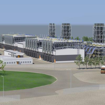 Wärtsilä bygger kraftverk i El Salvador.