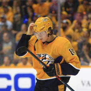 Mikael Granlund spelar i Nashville Predators.