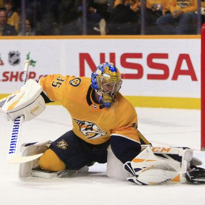Pekka Rinne är en stabil NHL-målvakt.