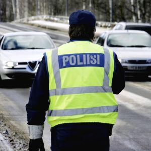 Hastighetsövervakning vid en motorväg