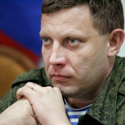 Alexandr Zachartjenko, Donetskrepublikens ledare.