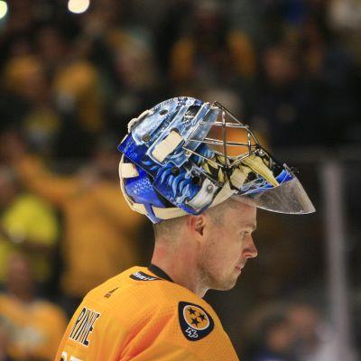Pekka Rinne lähikuvassa.