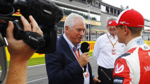 Pat Symonds intervjuar Mick Schumacher.