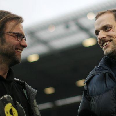 Klopp och Tüchel har mötts i Bundesligan många gånger.