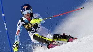 Mikaela Shiffrin i St. Moritz.