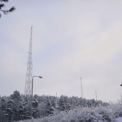 Lahden radiomastot.