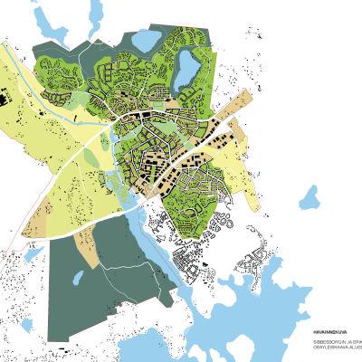 karta över planläggning