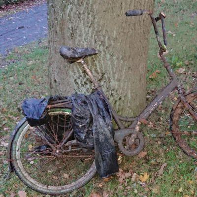Loimijoen pohjasta nostettu polkupyörä