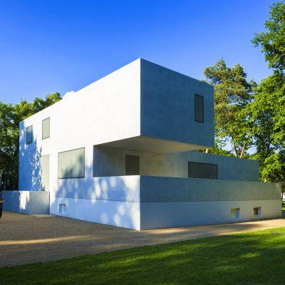 Kuvassa on talo Saksassa.
