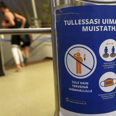 Itäkeskuksen uimahalli Helsingissä