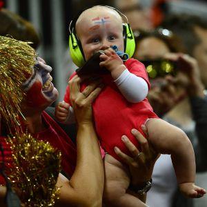 Norsk fest i alla åldrar på handbollsarenan i London