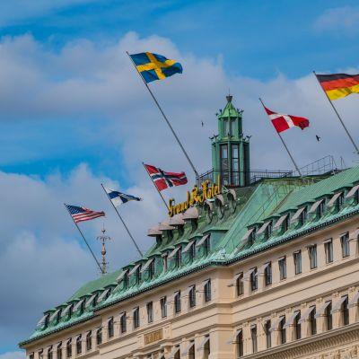 Grand Hôtel Tukholmassa.