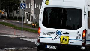 Bil för transport av skolelever