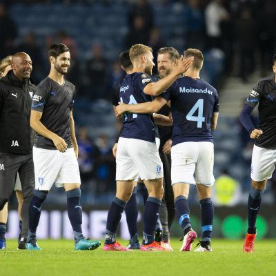NIklas Moisanders Malmö FF närmar sig Champions League.