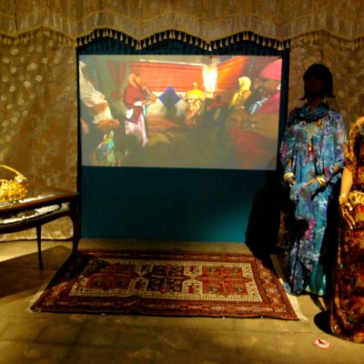 Helinä Rautavaaramuseet, somaliska bröllopstraditioner