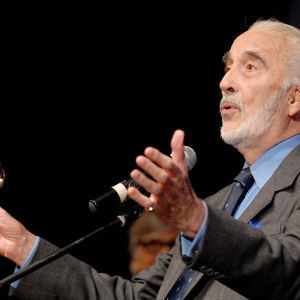 Sir Christopher Lee.