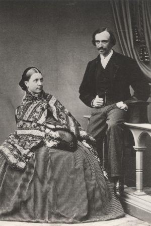 C.G.E. Mannerheims föräldrar Hedvig Charlotta Hélène Mannerheim (född von Julin) och Carl Robert Mannerheim.