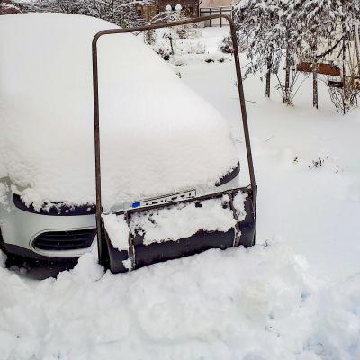 Lunta satoi paljon kerralla