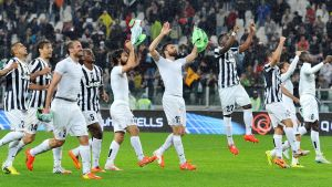 Juventus firar i Serie A