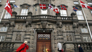 Christiansborg i Köpenhamn