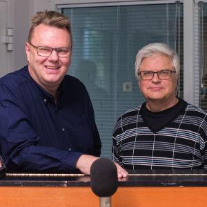 Yngve Lithén, Mikael Österberg, Gösta Hjerpe och Max Åkersten.