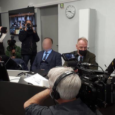 Viking Sally murhaoikeudenkäynti Turussa 24.5.2021.