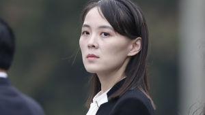 Kim Yo-Jong är syster till den nordkoreanska ledaren Kim Jong-Un