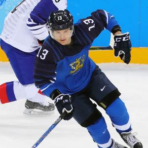 Julius Junttila representerade Finland i OS 2018.