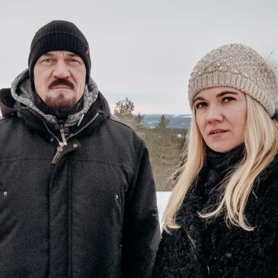Rikollinen mieli -sarjassa tavataan Veeti Kallio ja Taija Stoat.