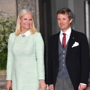 Kronprinsessan Mette-Marit av Norge och kronprins Fredrik av Danmark.
