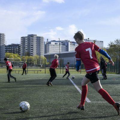 jalkapallo kuvitus yleiskuva