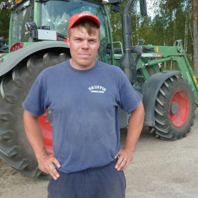 Mats Wikner, bonde i Kyrkslätt.